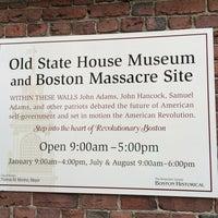 Foto tirada no(a) Boston Massacre Monument por Joe C. em 8/16/2014