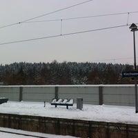 Photo taken at S Kirchseeon by Hendrik on 1/21/2013
