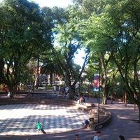 Photo taken at Plaza 9 de Julio by rostik (. on 2/21/2013
