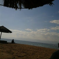 Photo taken at South Beach - Aqaba by Ismaeel K. on 2/2/2013