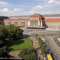 Photo taken at Leipzig Hauptbahnhof by Deutsche Bahn on 2/13/2013