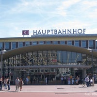 bochum hauptbahnhof train station in bochum. Black Bedroom Furniture Sets. Home Design Ideas