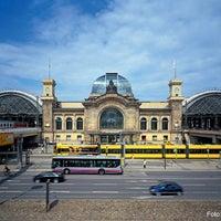 Photo taken at Dresden Hauptbahnhof by Deutsche Bahn on 11/30/2012