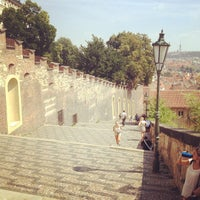 Photo taken at Prague Castle by Andy .. on 7/29/2013