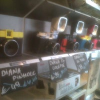 Photo taken at Lomography Gallery Store Antwerp by Geoffroy V. on 9/15/2012