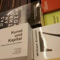 Photo taken at Buchhandlung Walther König by Viktor on 8/18/2016