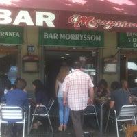 Foto tomada en Bar Morryssom por Raúl M. el 7/3/2013