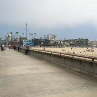 Photo taken at Venice Beach Pier by Noah W. on 4/21/2013