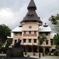 Photo taken at Thammasat University by Yuthasak S. on 6/25/2013