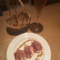 Photo taken at pasta&wine 勝どきMIKI by Sawa T. on 8/17/2016