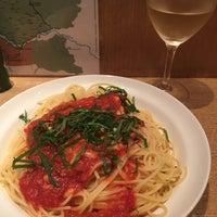 Photo taken at pasta&wine 勝どきMIKI by Sawa T. on 6/23/2016