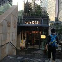 Photo taken at cafe 104.5 by naofumi on 7/7/2013