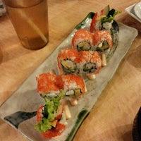 Photo taken at Sushi Naga by Levana V. on 9/2/2014