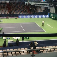 Photo taken at Shanghai Rolex Masters - Stadium Court by Amy Y. on 10/15/2017