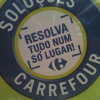 Photo taken at Carrefour by Rosane F. on 1/31/2013