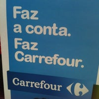 Photo taken at Carrefour by Rosane F. on 11/29/2012