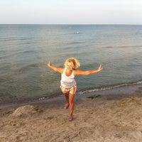Снимок сделан в Пляж Коблево пользователем Elena K. 8/10/2013