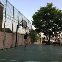 Photo taken at 경신고 농구코트 by Tina Yoojung S. on 5/5/2013