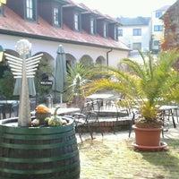 Photo taken at Geniesserhof Haimer - Hotel Garni & Weingut by Wolfgang R. on 11/3/2012