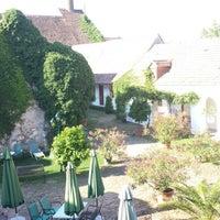 Photo taken at Geniesserhof Haimer - Hotel Garni & Weingut by Wolfgang R. on 8/16/2013