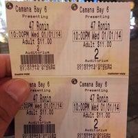 Photo taken at Regal Cinemas Camana Bay Stadium 6 by Jeffrey M. on 1/2/2014