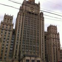 Photo taken at Смоленская-Сенная площадь by ????? ?. on 7/19/2013