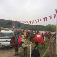 Photo taken at Ortaklar Deve Güreşi by ÖzCan G. on 3/18/2018