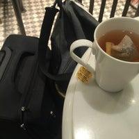 Photo taken at Agnès b. CAFÉ L.P.G. 台北京站廣場店 by Charles F. on 5/22/2016
