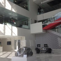 Photo taken at MIT Media Lab — Wiesner Building (Building E15) by daniel p. on 4/1/2013