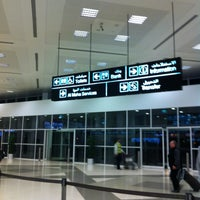 Photo taken at Arrival Terminal by Johanne E. on 2/27/2013