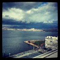 Photo taken at Mövenpick Hotel Izmir by Hakan Ö. on 2/27/2013