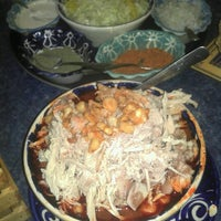 Photo taken at Pozole Zirahuen by Luis A. on 11/24/2012