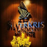 Photo taken at SIA SilverKris Lounge (Terminal 3) by Bart L. on 1/24/2013