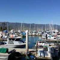Photo taken at Santa Barbara Harbor by Denise L. on 5/11/2014
