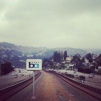 Photo taken at Rockridge BART Station by Jackson M. on 10/11/2012