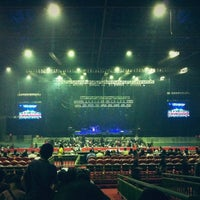 Photo taken at Mata Elang International Stadium (MEIS) by Aris N. on 12/15/2012