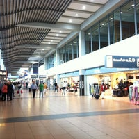 Photo taken at Hamburg Airport Helmut Schmidt (HAM) by Aris N. on 6/22/2013
