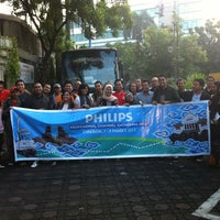 Photo taken at PT Philips Indonesia Head Office by Aris N. on 3/6/2013