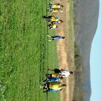 Photo taken at Bledsoe Youth Soccer Field by Pamela K. on 4/6/2013