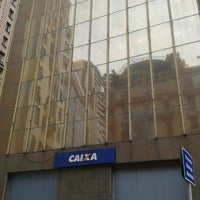 Photo taken at Caixa Econômica Federal by Leandro S. on 10/6/2012