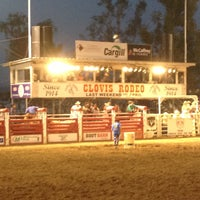 Photo taken at Clovis Rodeo Grounds by Noelle on 4/27/2013