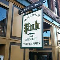 Photo taken at Blackhorse Pub & Brewery by Juan D. on 11/10/2012