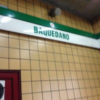 Photo taken at Metro Baquedano by Julio A. on 3/15/2013