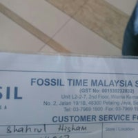 fossil service