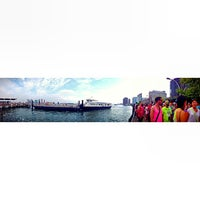 Photo taken at New York Water Taxi - LIC by Emma C. on 8/31/2013