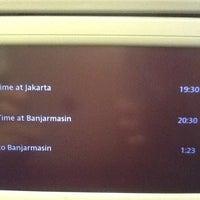 Photo taken at GA358 / Garuda Indonesia by machful a. on 7/23/2013