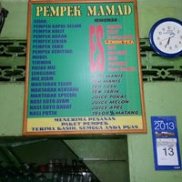 Photo taken at Pempek Mamad by machful a. on 11/12/2013