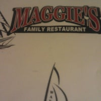 Photo taken at Maggies Restaurant by Tony on 12/9/2012