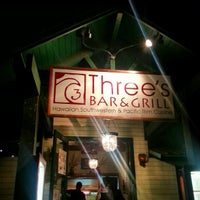 Photo taken at Three's Bar & Grill by Jansen S. on 1/6/2013