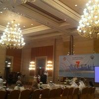 Photo taken at Al-Raya Conference Hall by Nemash A. on 3/4/2013
